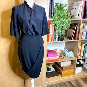 Stella McCartney SET draped silk skirt and top set